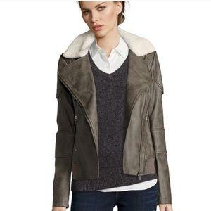 ✨NWOT✨Sam Edelman Faux Leather Bomber Jacket